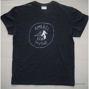 apparel t-shirt - dark blue, size xl
