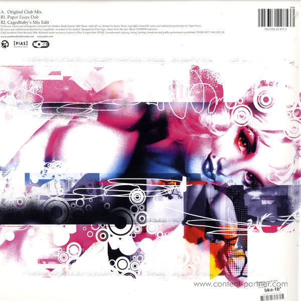 armand van helden - sugar (Cagedbaby Remix) (Back)
