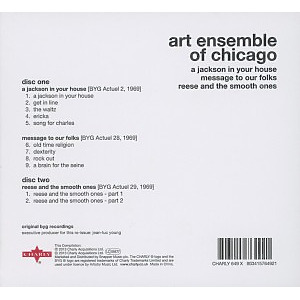 art ensemble of chicago - a jackson in your house/message t (Back)