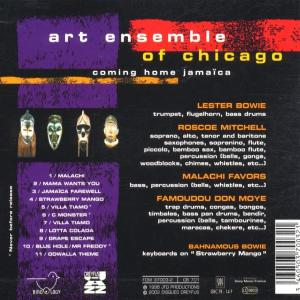 art ensemble of chicago - coming home jamaica (Back)