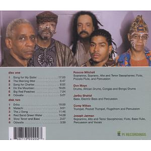 art ensemble of chicago - non-cognitive aspects of the city (Back)