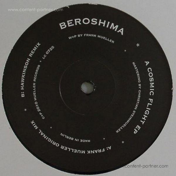 beroshima - cosmic flight ep (Back)