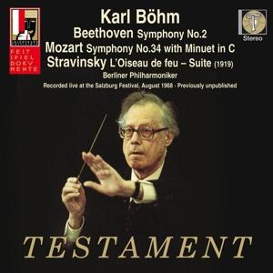 b?hm,k./berliner philharmoniker - sinfonie 2/sinfonie 34/der feuervogel-su