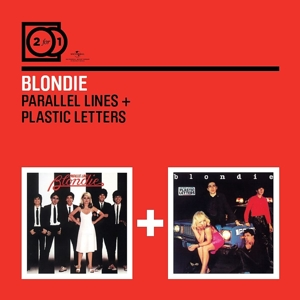 blondie - 2 for 1: parallel lines/plastic letters