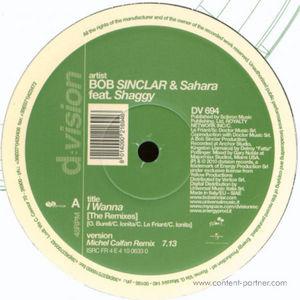 bob sinclar & sahara ft. shaggy - i wanna remixes