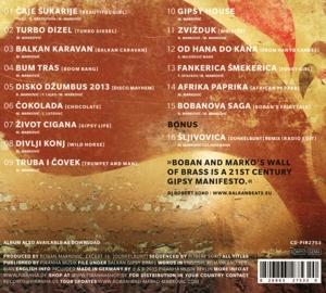 boban & marko markovic orchestra - gipsy manifesto (Back)