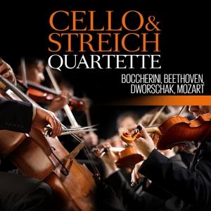 boccherini,beethoven,dworschak,mozart - cello-und streichquartette