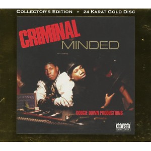 boogie down productions - criminal minded (gold disc)