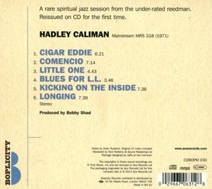 caliman,hadley - hadley caliman (Back)