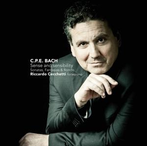 cecchetti,riccardo - sense and sensibility cpe bach sonatas,f