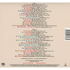 cerrone - the best of cerrone productions (Back)