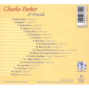 charlie parker - & friends-jazz reference (Back)