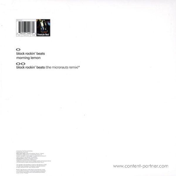 chemical brothers - block rockin beats (Back)