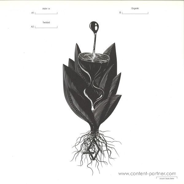 cosmjn - organik ep (Back)