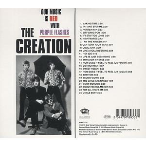 creation,the - our music is red with purple flashes (mi (Back)