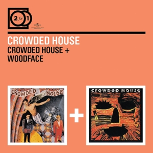 crowded house - 2 for 1: crowded house/woodface