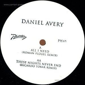 daniel avery - all i need (roman flügel remix) BACK IN