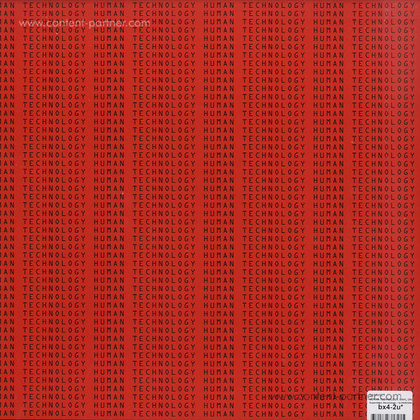 datawelt - human technology, vinyl only (Back)