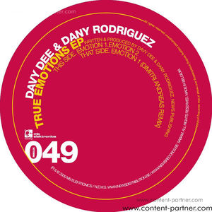 davy dee and dany rodriquez - true emotions ep