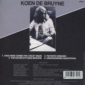 de bruyne,koen - here comes the crazy man! (+bonus cd) (Back)