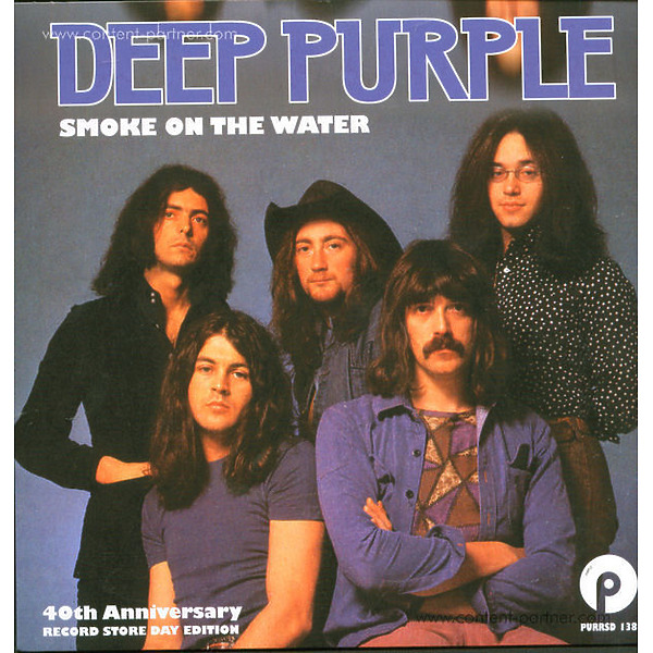 deep purple - Smoke on The Water (Live) [back in] (Back)