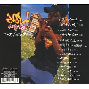 del the funky homosapien - no need for alarm (Back)
