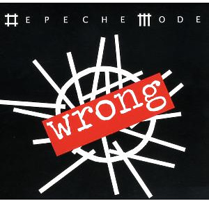 depeche mode - wrong -single cd-