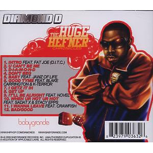 diamond d - the huge hefner chronicles (Back)