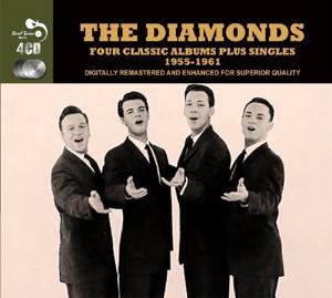 diamonds - 4 classic albums plus