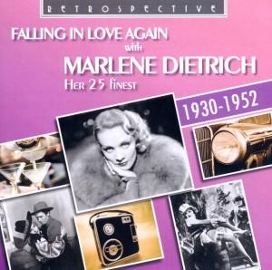 dietrich,marlene - falling in love again with marlene dietr