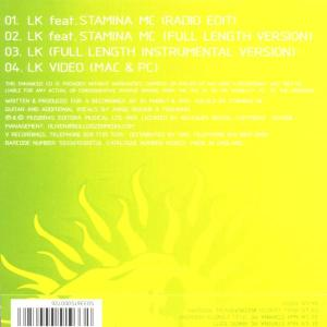dj marky & xrs land - lk feat.stamina (Back)