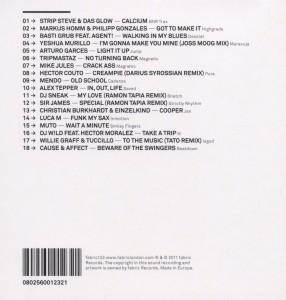 dj sneak - fabric 62 (Back)