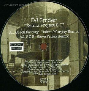 dj spider - remix project 2.0