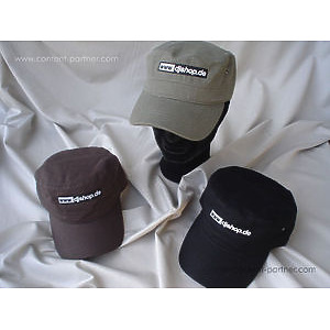 djshop headwear - exclusive djshop cap in braun
