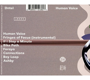dntel - human voice (Back)