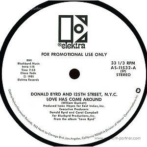 donald byrd - love has come around / i feel like lovin
