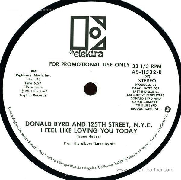 donald byrd - love has come around / i feel like lovin (Back)