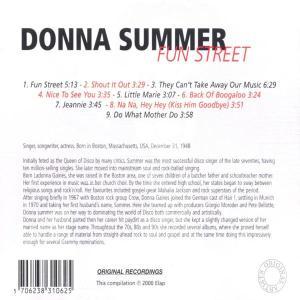 donna summer - fun street (Back)