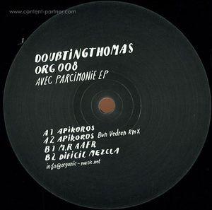 doubtingthomas - avec parcimonie ep (ben vedren remix)