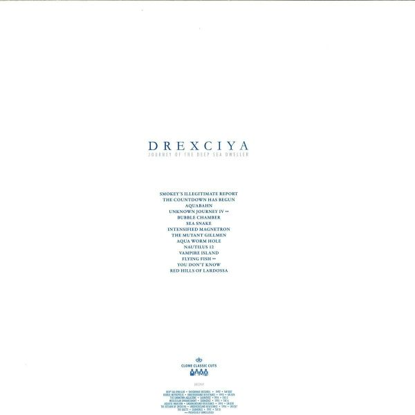 drexciya - journey of the deep sea dweller 3 (Back)