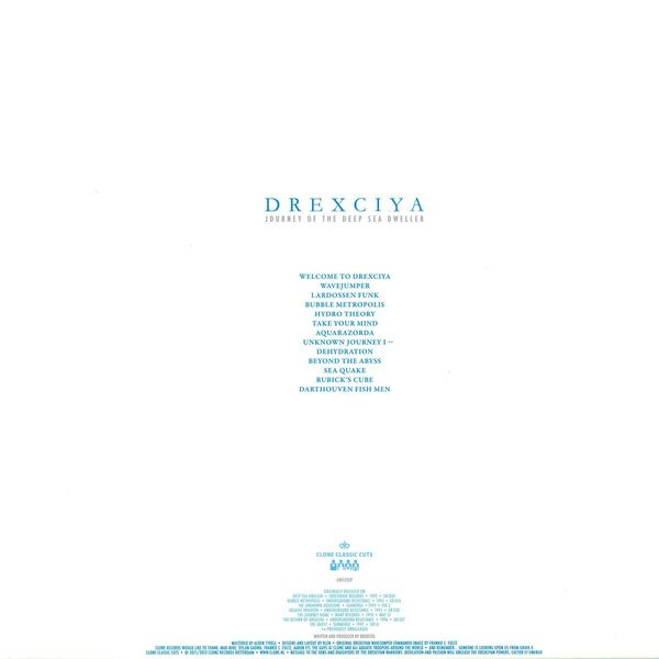 drexciya - journey of the deep sea dweller II (Back)