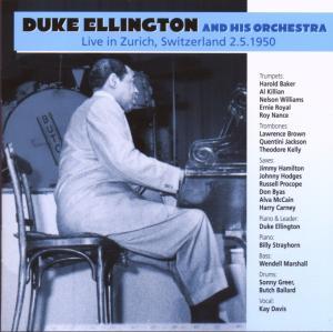 ellington,duke & his orchestra - live in zurich,switzerland 1950