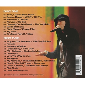 eminem - live from comerica park (Back)