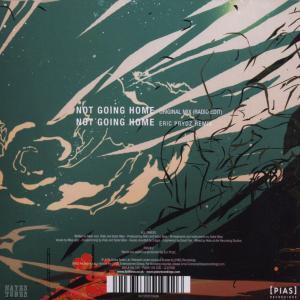 faithless - not going home (2 track) (Back)