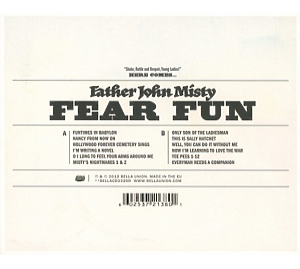 father john misty - fear fun (Back)