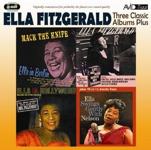 fitzgerald,ella - 3 classic albums plus