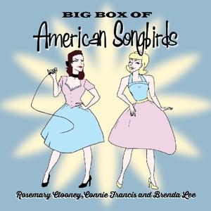francis/clooney/lee - big box of american songbirds