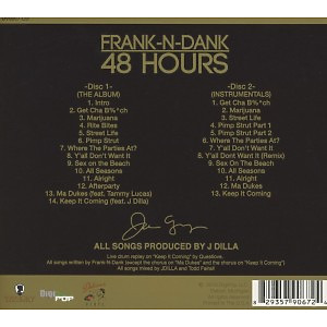 frank n dank - 48 hours (Back)