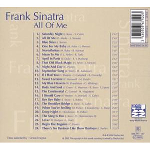 frank sinatra - all of me-jazz reference (Back)