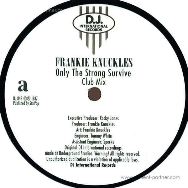 frankie knuckles - only the strong survive